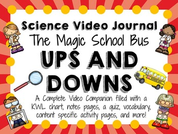 Magic School Bus Ups and Downs: Video Journal