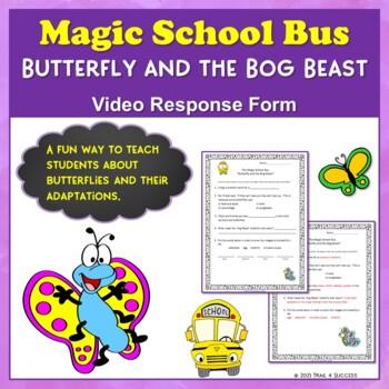 "Butterflies Magic School Bus ""Butterfly and the Bog Beast"""