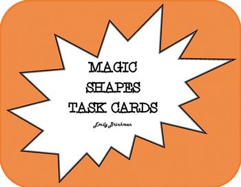 Magic Shapes Task Cards