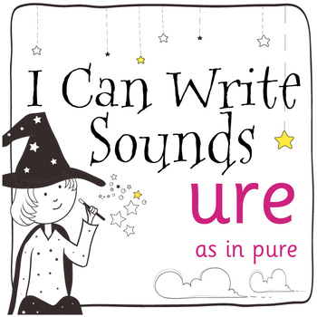 Magic Sounds Phonics: Set 54: words  with ure (as in pure)