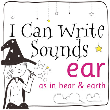 Magic Sounds Phonics: Set 65: words  with ear (as in bear
