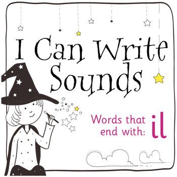 Magic Sounds Phonics: Set 80: words that end with il