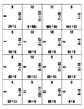 Magic Square Division Game-4X4