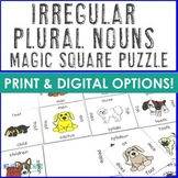 Irregular Plural Nouns Puzzle Center
