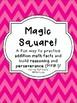Magic Square Puzzle Bundle: Addition & Subtraction Math Fa