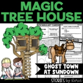 Magic Tree House #10 Ghost Town at Sundown Book Questions