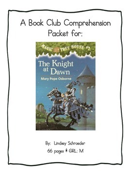 Book Club Comprehension Packet for Magic Tree House #2 The
