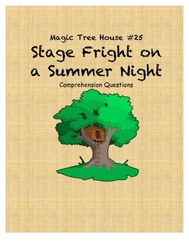 Magic Tree House #25 Stage Fright on a Summer Night compre