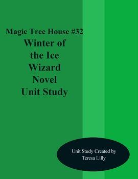 Magic Tree House #32 Winter of the Ice Wizard Novel Litera