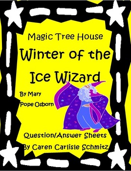 Magic Tree House #32- Winter of the Ice Wizard Question &