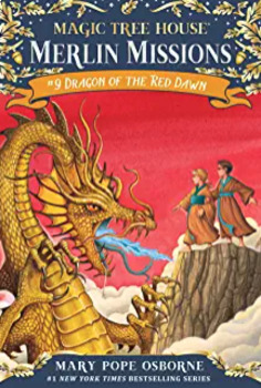 Magic Tree House # 37 Dragon of the Red Dawn