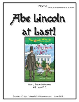 Magic Tree House #47  Abe Lincoln at Last!