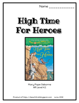 Magic Tree House #51 High Time for Heroes