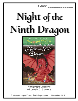 Magic Tree House #55 Night of the Ninth Dragon