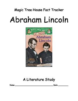 Magic Tree House ... Abraham Lincoln -- A Literature Study