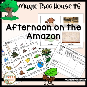 Magic Tree House - Afternoon on the Amazon - #6