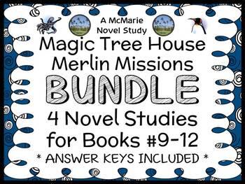 Magic Tree House BUNDLE - 4 Novel Studies : Books #37 thro