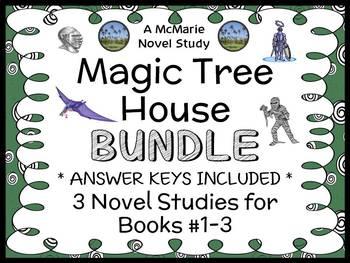 Magic Tree House Bundle (Mary Pope Osborne) 3 Novel Studie