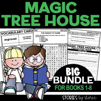 Magic Tree House Bundle (Questions & Activities for Books 1-8)