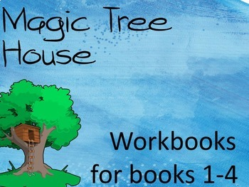 Magic Tree House Bundle (Workbooks for books 1-4)