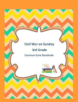 Magic Tree House Civil War on Sunday 3rd Grade Common Core