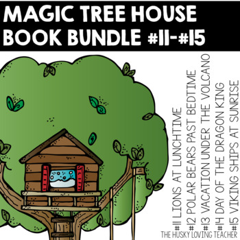 Magic Tree House Comprehension Guides: Books 11-15 {GROWIN
