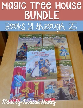 Magic Tree House Comprehension Guides: Books 21-25 {GROWIN