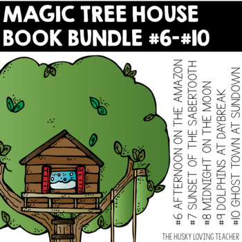 Magic Tree House Comprehension Guides: Books 6-10 {GROWING