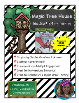 Magic Tree House Dinosaurs Before Dark #1 Novel Unit