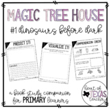Magic Tree House Dinosaurs Before Dark {A Book Study Companion}
