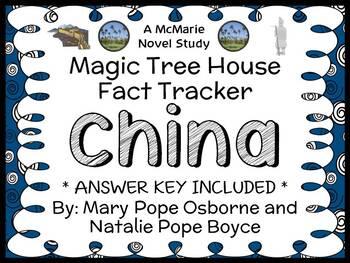 Magic Tree House Fact Tracker: China (Osborne and Boyce) B