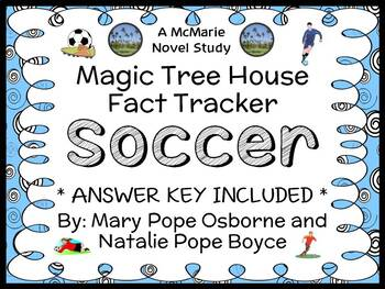 Magic Tree House Fact Tracker: Soccer (Osborne) Book Study