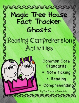 Ghost/Good Night for Ghosts-Magic Tree House: Reading Diff