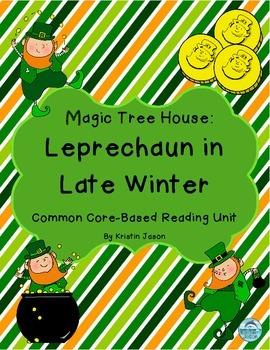 Magic Tree House Leprechaun in Late Winter Reading Unit