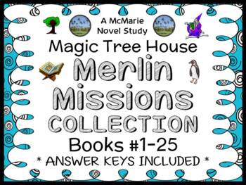 Magic Tree House Merlin Mission COLLECTION: 25 Novel Studi