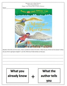 Magic Tree House Monday With a Mad Genius Comprehension No