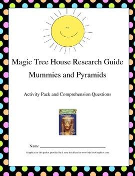 Magic Tree House Mummies and Pyramids MEGA PACK