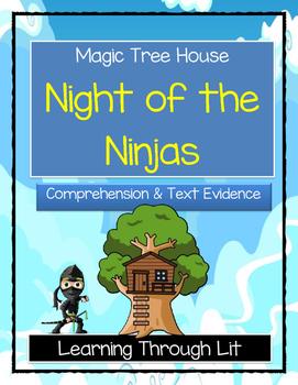 Magic Tree House NIGHT OF THE NINJAS Comprehension & Citin