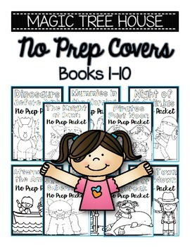 Magic Tree House NO PREP Covers FREEBIE