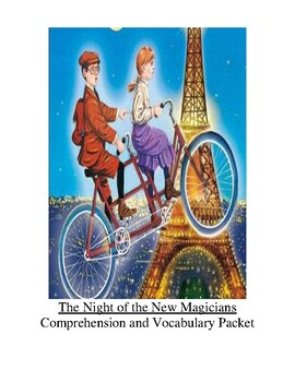 Magic Tree House Night of the New Magicians Guided Reading