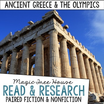 Ancient Greece & the Olympics Magic Tree House Fiction and