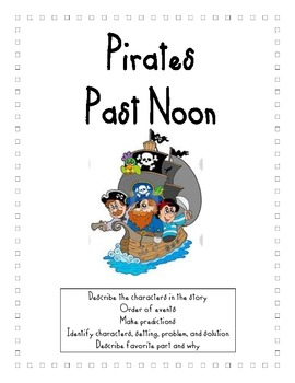 Magic Tree House Pirates Past Noon Reading Packet