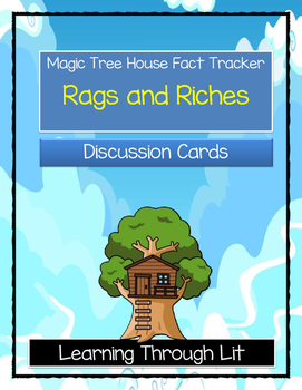 Magic Tree House RAGS AND RICHES Fact Tracker - Discussion Cards