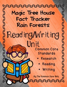 Rain Forests-Magic Tree House: Reading/Writing Common Core