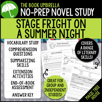 Stage Fright on a Summer Night - Magic Tree House