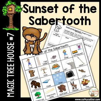 Magic Tree House - Sunset of the Sabertooth - #7