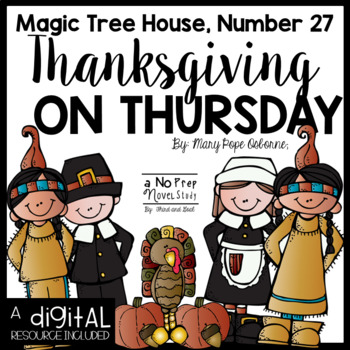 Magic Tree House Thanksgiving on Thursday