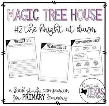 Magic Tree House The Knight at Dawn {A Book Study Companion}