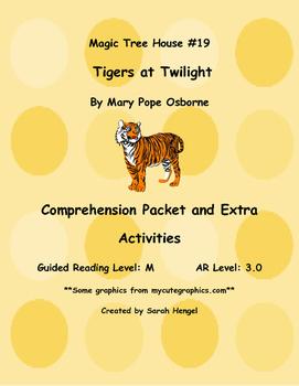 Magic Tree House:Tigers at Twilight #19 Mary Pope Osborne