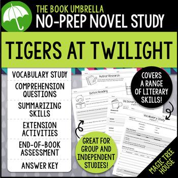 Tigers at Twilight - Magic Tree House
